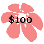 $100.00 Donation
